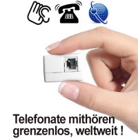 Festnetz-Abhörgerät über GSM-Funk im Angebot von www.abhoergeraete.com