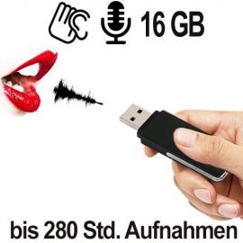 USB SPY-Recorder, Neu jetzt 16 GB. Bestellen bei www.abhoergeraete.com