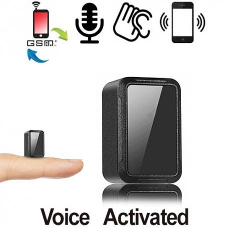 Das weltkleinstes GSM-Abhörgerät mit Akku, Voice-Activated.