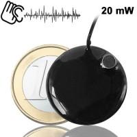Minisender-Abhörgerät Knopf 20-mW im Angebot von www.abhoergeraete.com