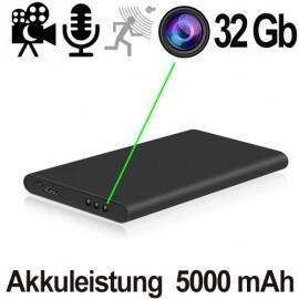 HD-SpyCam im AkkuPack, 5000 mAh. Online kaufen von www.abhoergeraete.com