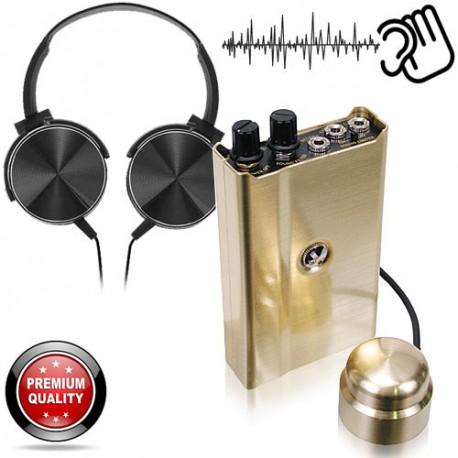 Profi-Stethoskop mit Körperschallmikrofon von www.abhoergeraete.com