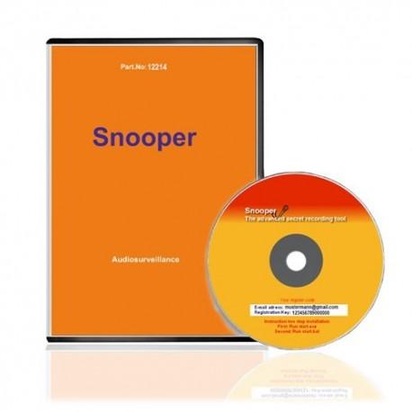 """PC-Tarnkappen-Recorder """"Voice-Snooper"""". Ein Angebot von www.abhoergeraete.com"""