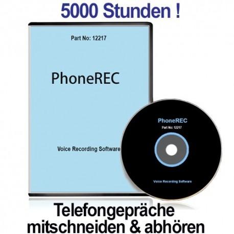 PHONEREC, Autom. PC-Telefonmitschnitt. Ein Angebot von www.abhoergeraete.com