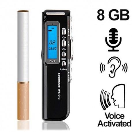 Mini-Voice-Recorder, 8 GB, bis 1200 Stunden (voice-activated). Bestellen bei www.abhoergeraete.com
