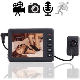 Knopfloch-Spionkamera mit Mini-DVR. Online kaufen von www.abhoergeraete.com