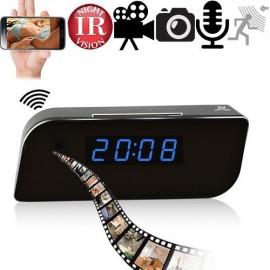 WIFI-IP HD Spycam getarnt im Wecker. Online kaufen von www.abhoergeraete.com