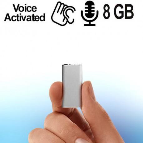 Ultra Micro-SPY-Recorder (voice-activated). Bestellen bei www.abhoergeraete.com