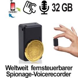 Fernsteuerbarer Voice-Recorder via SMS-Befehl.