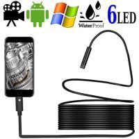 Micro-Endoskope-Spionkamera- Glasklare Bild-, Video-, und Tonaufnahmen mit Handy/PC.