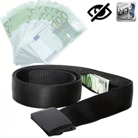 Reise Gürtel mit Geldversteck. Schützt Bargeld, Reisepasskopien und andere wichtige Reisedokumente vor Dieben.