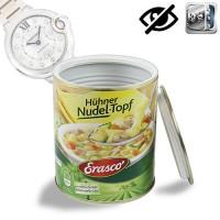 Geheimversteck in Lebensmitteldose