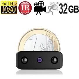 Die kleinste Micro-Spionagekamera der Welt mit 32 GB Speicher