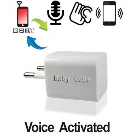 """220-V GSM-Abhörgerät """"Cube"""" im Angebot von www.abhoergeraete.com"""